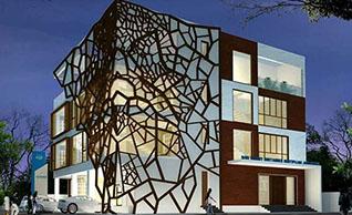 镂空雕花铝单板具有怎样的结构和制作细节?