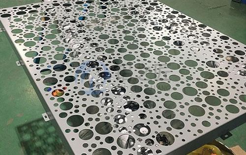 乱孔铝单板