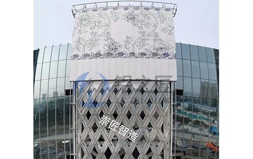 外墙青花瓷铝单板