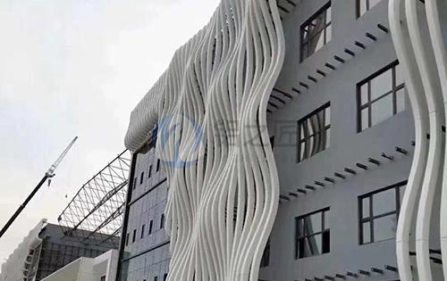外墙波浪铝方通