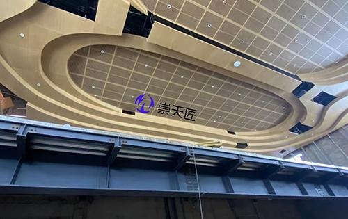 吊顶木纹铝单板,天花冲孔铝单板
