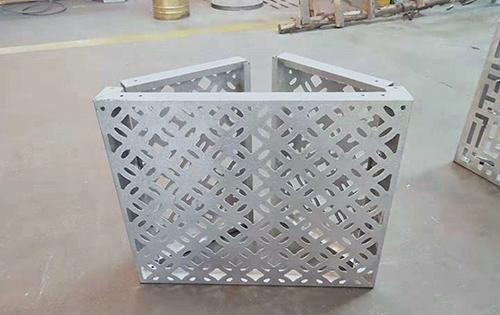 冲孔空调罩铝板