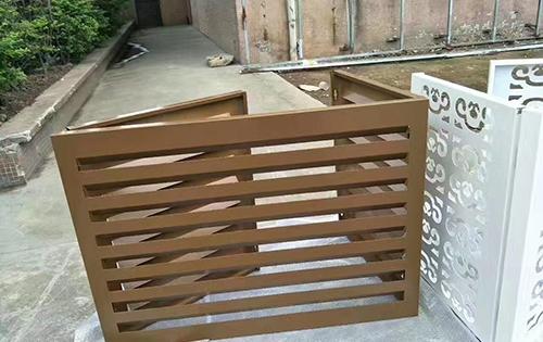 雕刻空调罩铝单板
