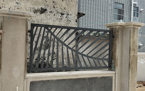 镂空铝空调罩